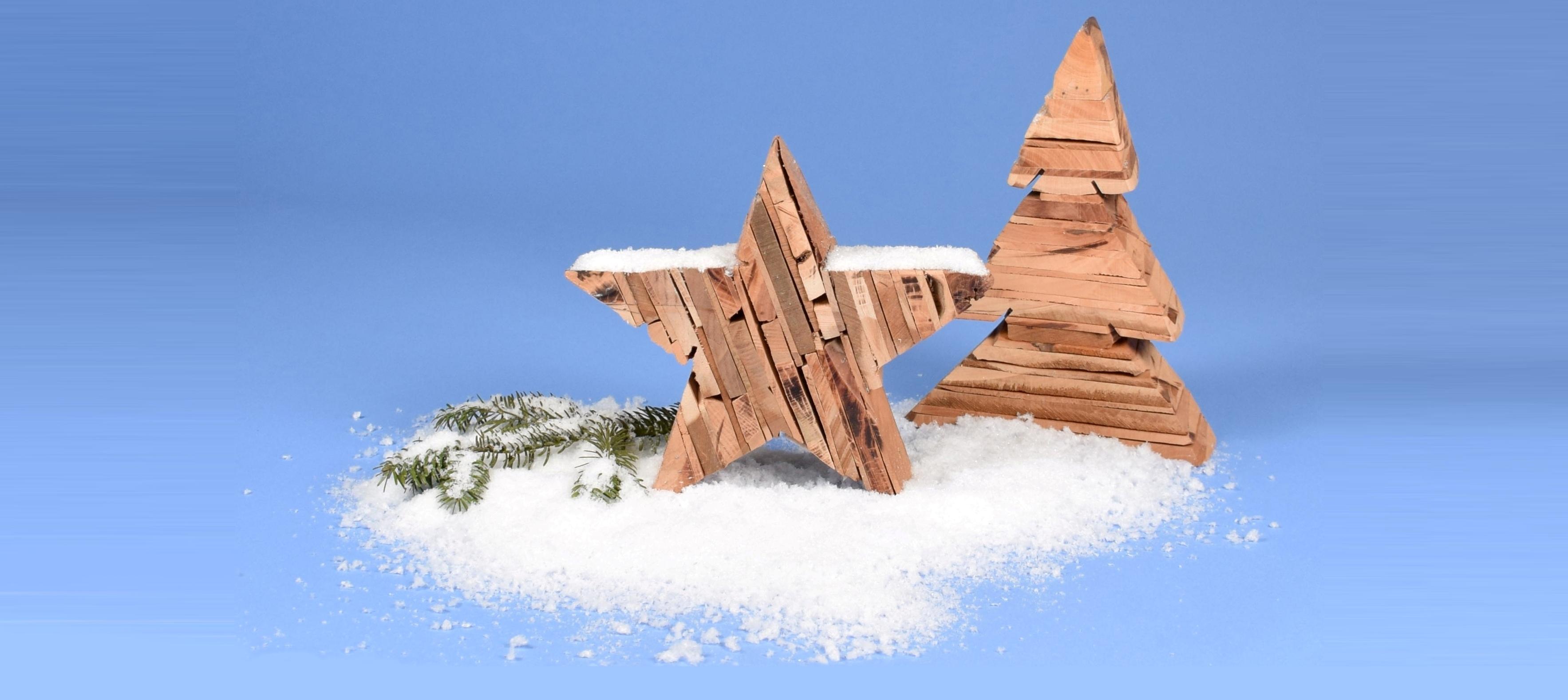 Dekoration für Winter, Weihnachten & Halloween